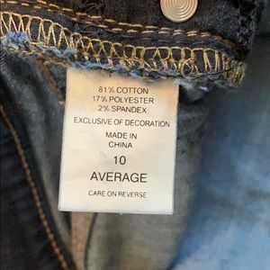 New York & Company Jeans - NY & Co Bootcut DarK Wash Jeans, size 10